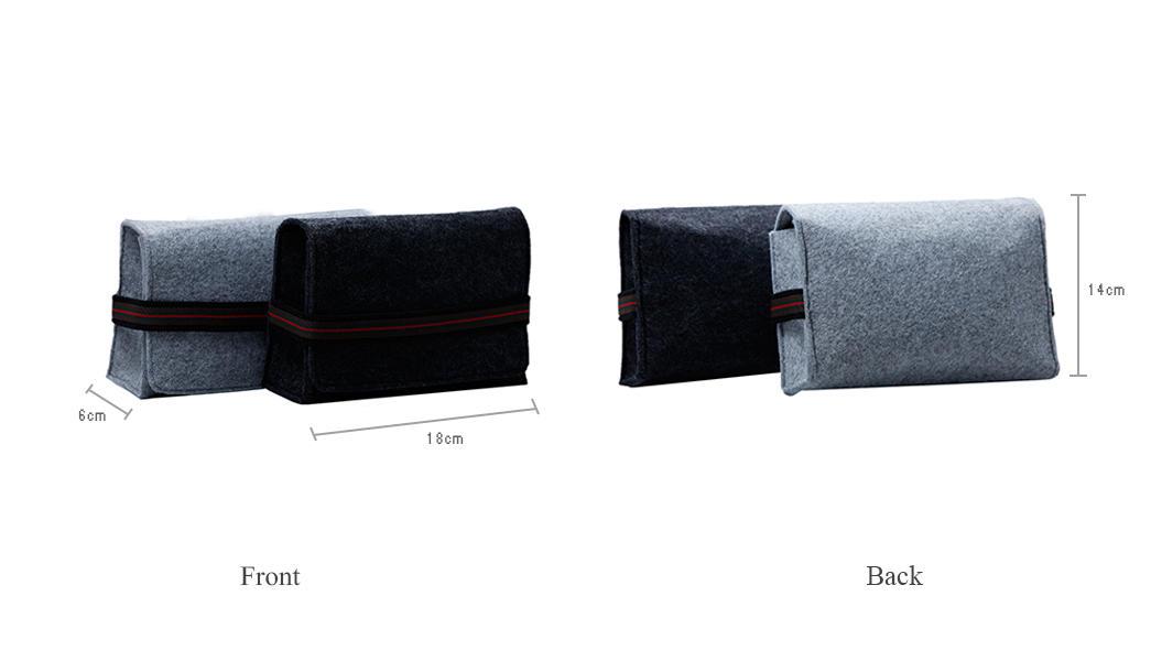Yonghuajie on sale felt pouch felt storage bag felt shopping bag felt jewelry bag embroidered for storage-1