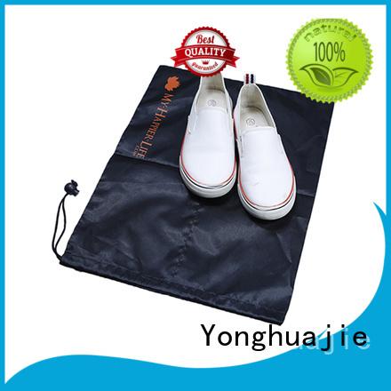 Yonghuajie marble mesh zipper bag silk for cosmetics