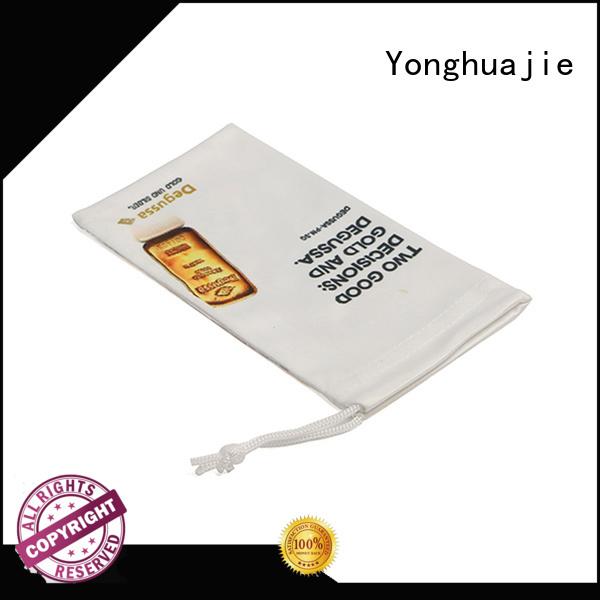 Yonghuajie by bulk microfiber purse logo custom for jewelry store