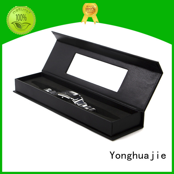 gold paper pen box thick cheap for packaging