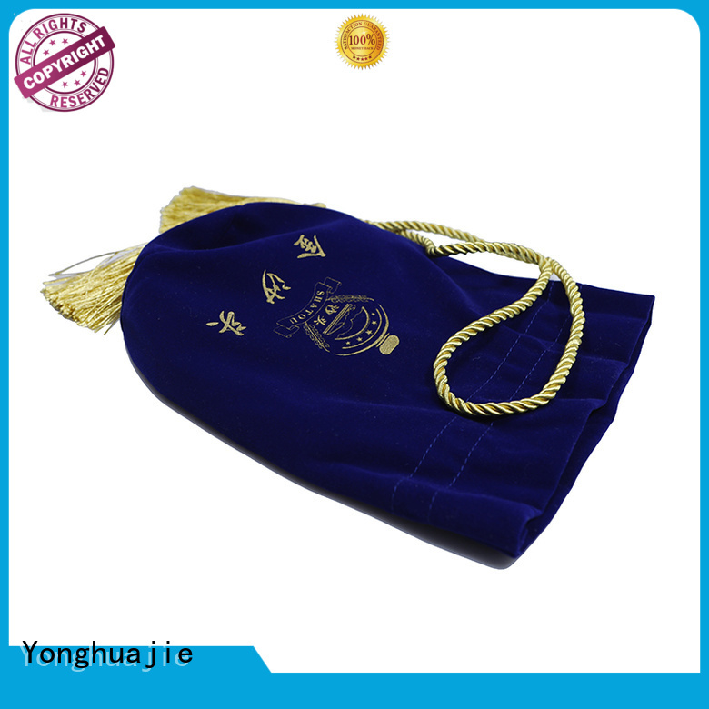 Yonghuajie design jewelry bags factory for watch packing