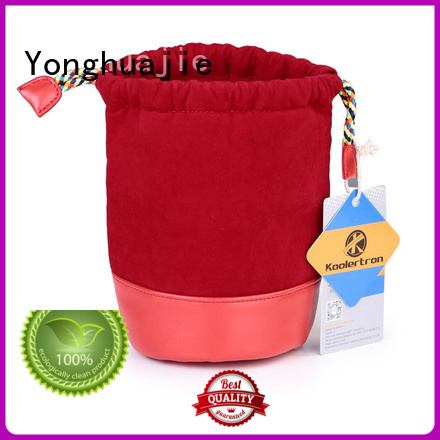 Yonghuajie gold velvet pouch for wholesale for packing