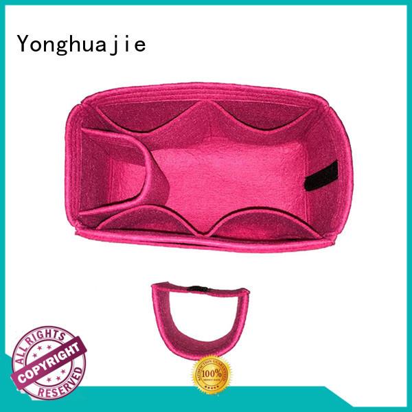 Yonghuajie Top felt tote bag Supply for storage