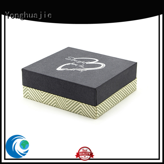 Yonghuajie portable plastic box at sale for gift
