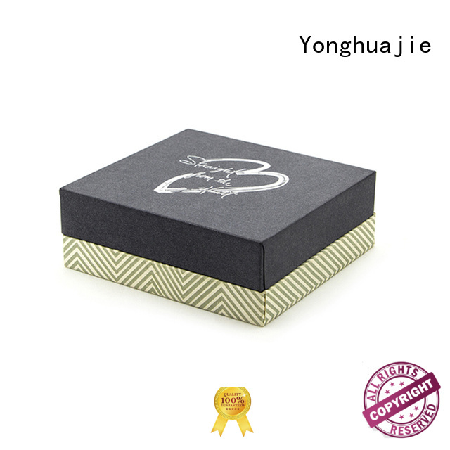 Yonghuajie free sample plastic box insert for jewelry