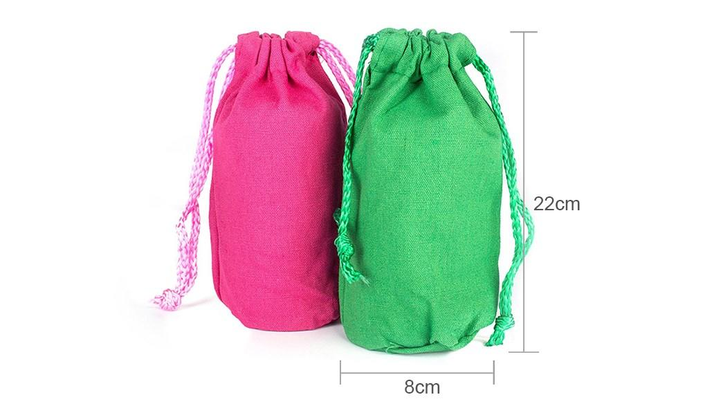 Top custom made canvas bags embroidery window for makeup-1