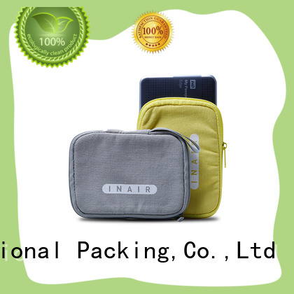 at discount cotton shopping bags with zipper for packaging Yonghuajie