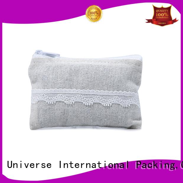 grosgrain linen pouch linen drawstring bag top-selling for school Yonghuajie