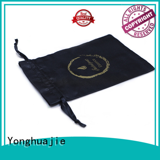 satin pouch satin jewelry bag soft for shopping Yonghuajie