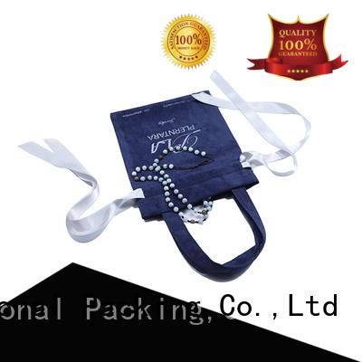 Yonghuajie gold velvet makeup bag printed logo for packaging