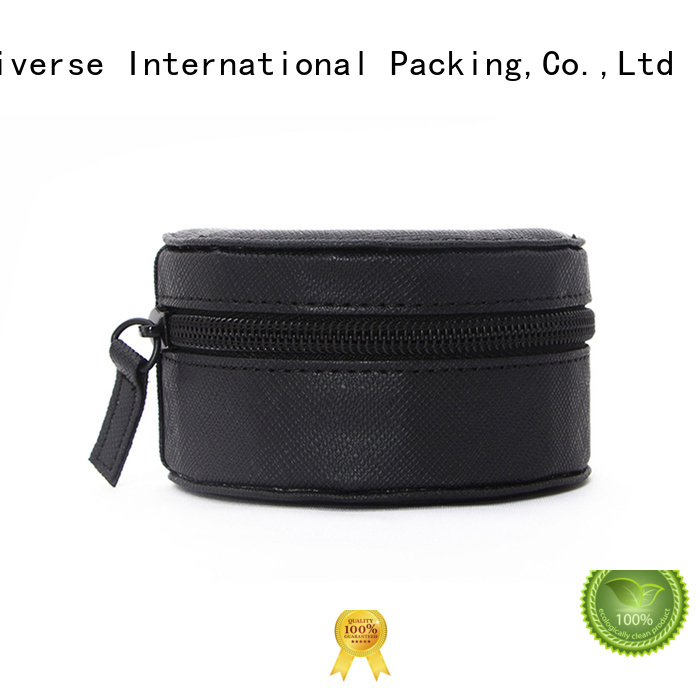 Wholesale pu leather box black for business