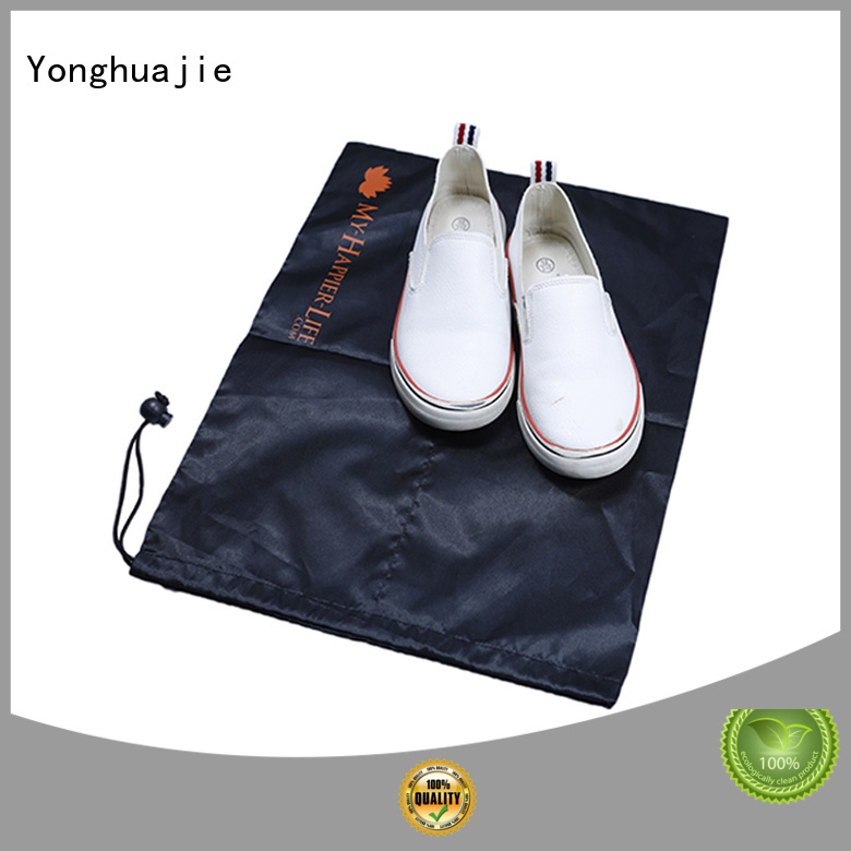 drawstring polyester bag with power bank Yonghuajie