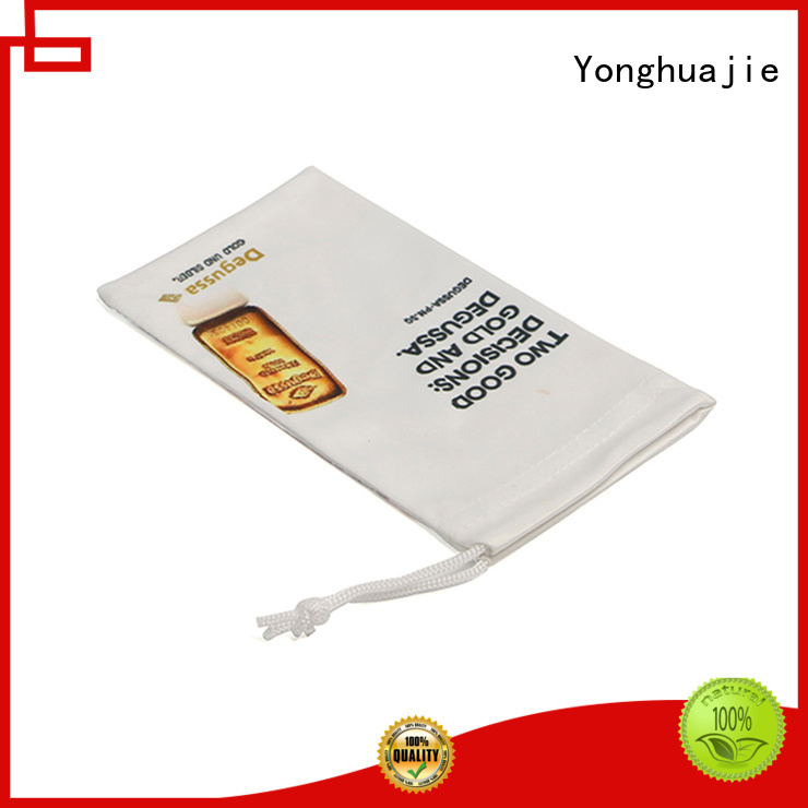 Yonghuajie logo custom sunglasses sleeve on-sale for jewelry shop