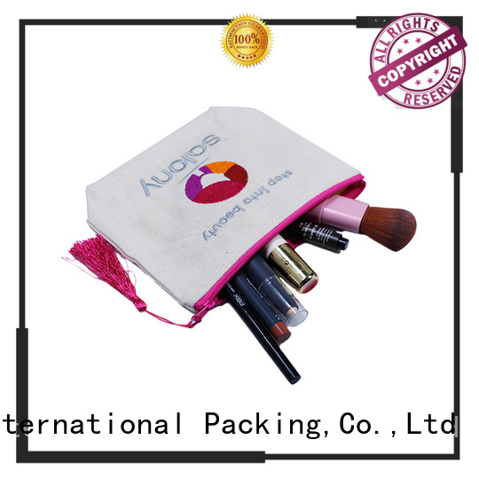 Yonghuajie heavy canvas tote bag manufacturers for cosmetic
