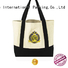 Yonghuajie drawstring white canvas bag small canvas tool bag strong for makeup