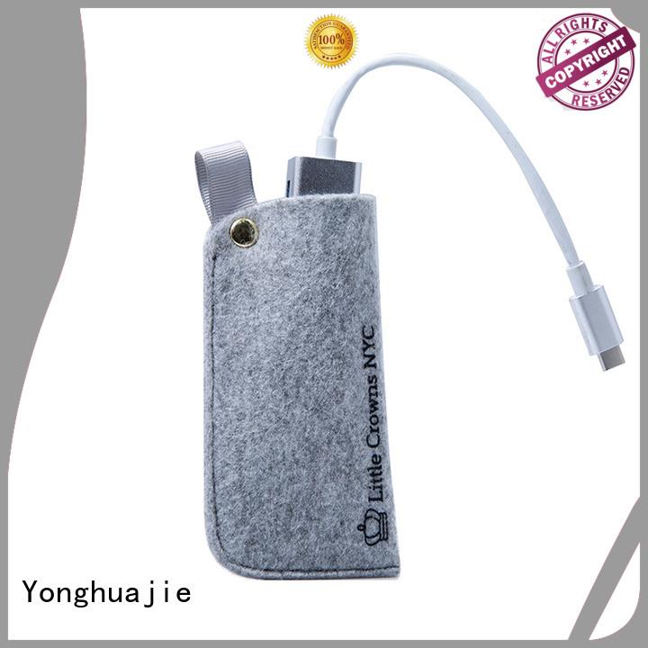 Yonghuajie flap blue bag factory for storage
