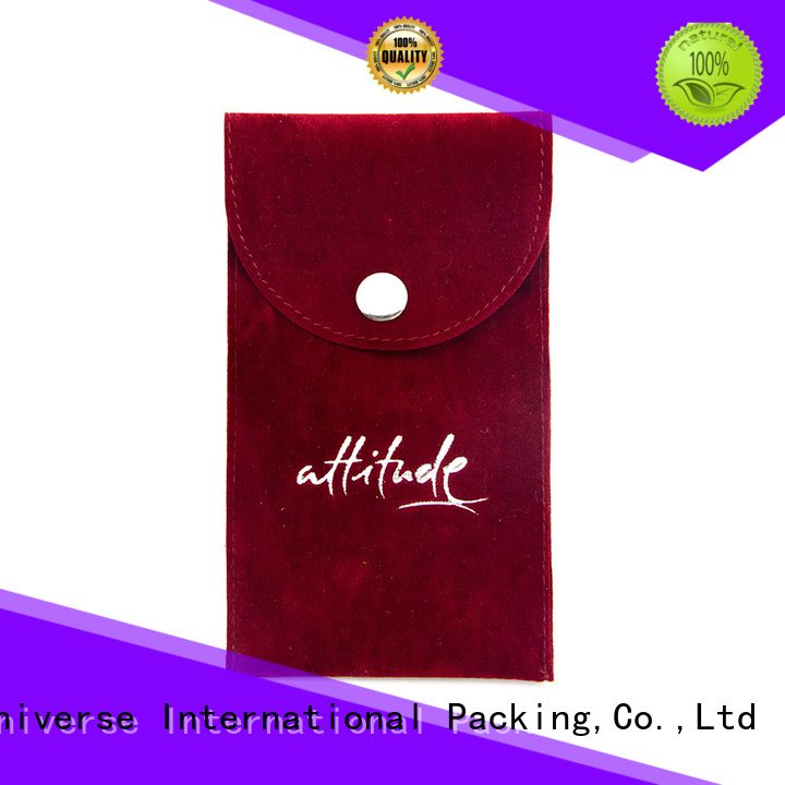 printed velvet pouch printed logo factory for packing