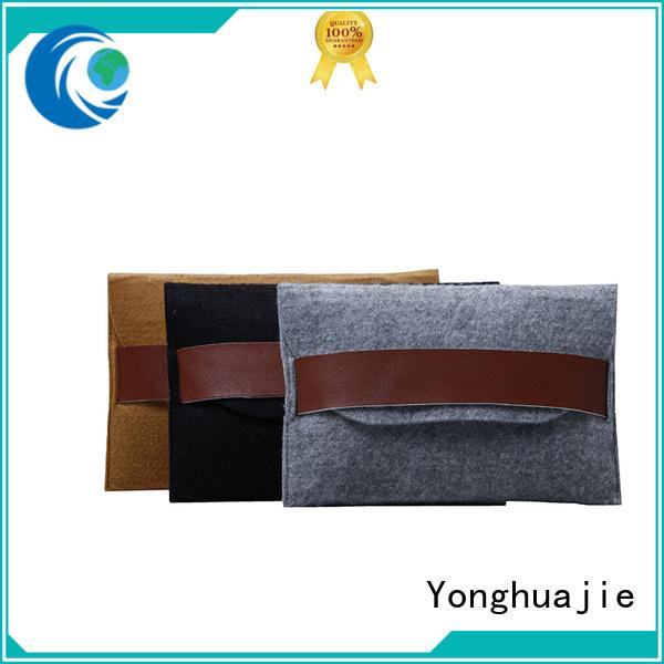 Yonghuajie Top felt tote bag Suppliers for goods
