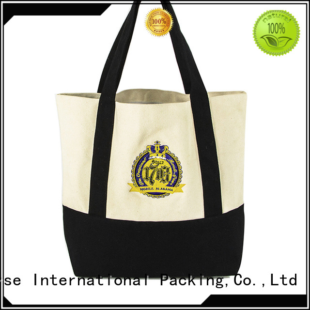 Yonghuajie blank canvas tote bags wholesale small for travel