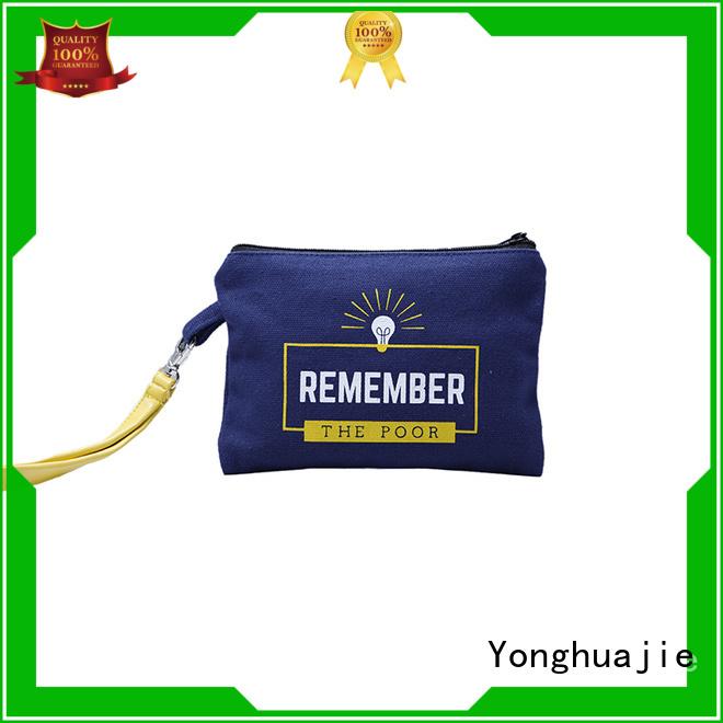 Yonghuajie blank blank tote bags cotton for makeup