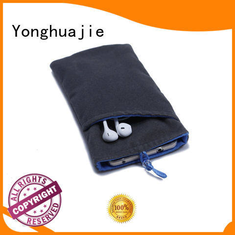 Yonghuajie gold velour bag company for packaging