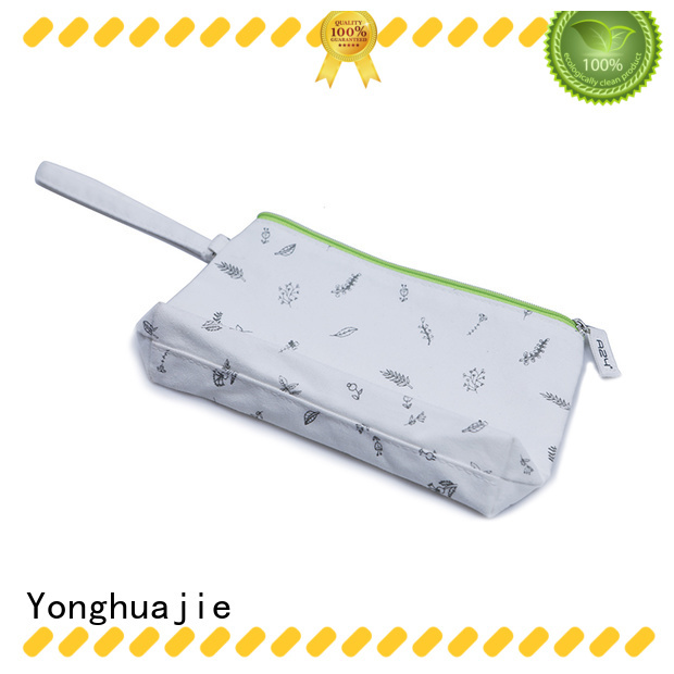 Yonghuajie pu leather tote bag with pockets mat for packaging