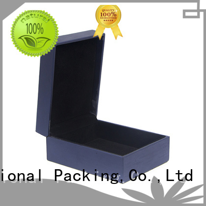 Yonghuajie pu leather leather ring box fast delivery for gift