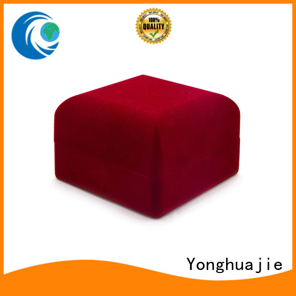 obm crushed velvet box velvet ring box flocking company