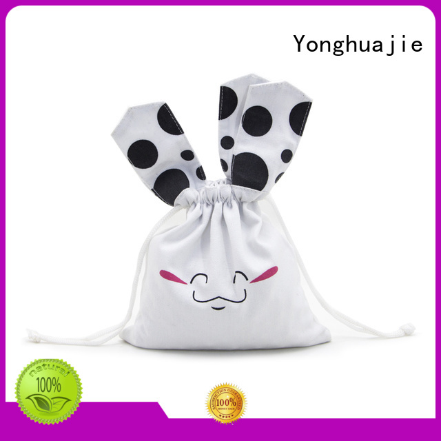 Yonghuajie soft cotton carry bags at discount for packing