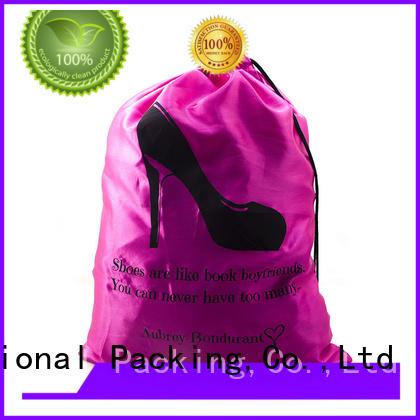 silk printing polyester bag logo printed manufacturers