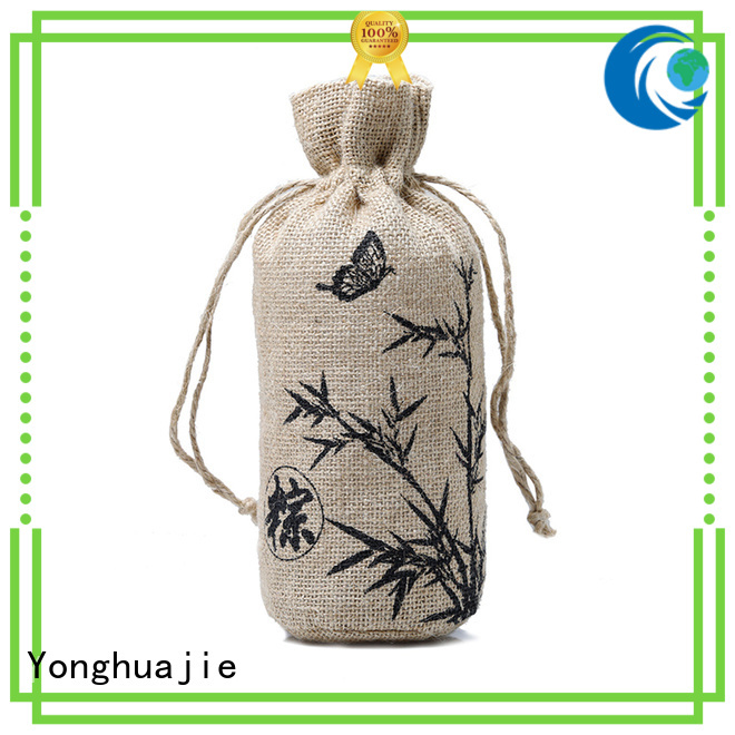 high-quality jute sack jute shopping bag free sample for packing Yonghuajie
