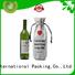 Yonghuajie Brand wine linen custom linen totes