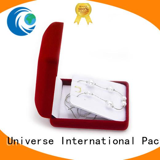 Yonghuajie obm velvet storage box for jewelry
