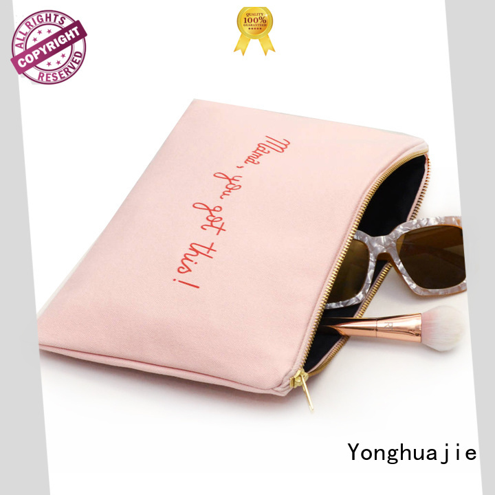 Yonghuajie drawstring wholesale canvas bags mat for travel