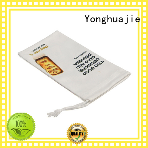 Yonghuajie soft sunglasses pouch wholesale on-sale for jewelry store