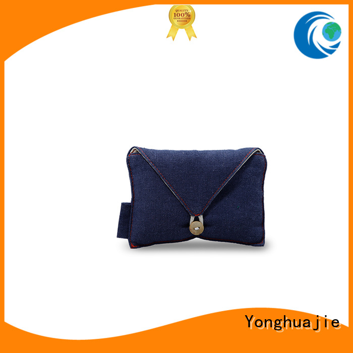 Yonghuajie grosgrain linen laundry bag linen gift bags at discount for shopping