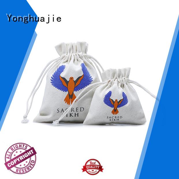 Yonghuajie designer canvas tote bags tool for cosmetic