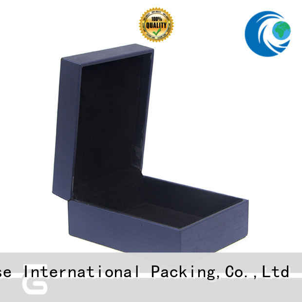 Yonghuajie pu leather leather box for wedding rings