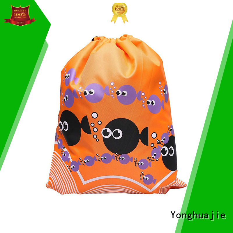 Yonghuajie soft polyester tote bags manufacturers for shopping