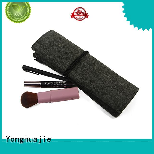 flap felt tote bag custom made Yonghuajie