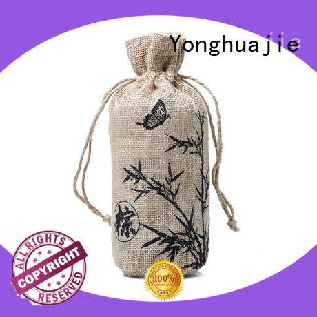 Yonghuajie jute grocery bags for wholesale for packing