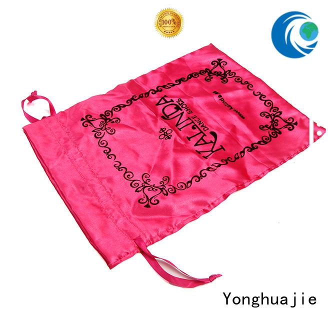 Yonghuajie tote satin drawstring bags with handle