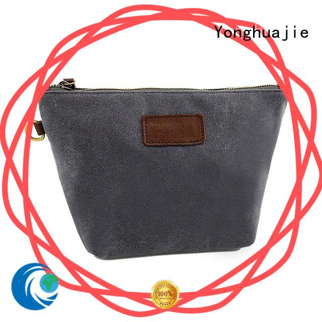 Yonghuajie tassel striped canvas tote bag yoga for shopping