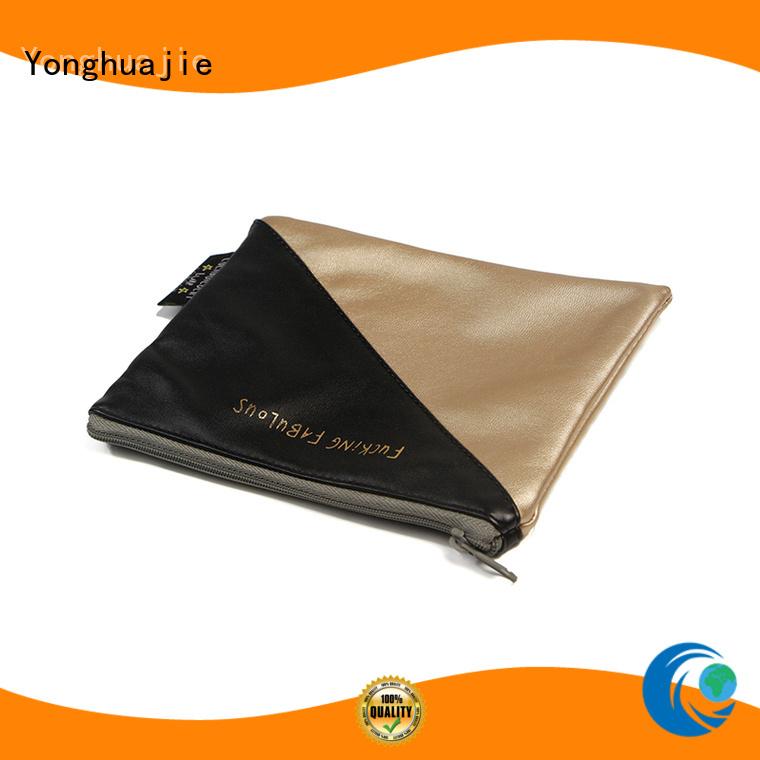 Yonghuajie custom custom makeup bags at discount for wedding rings