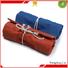 natural grey canvas tote bag canvas dust bag canvas zipper tool bag logo printed for makeup Yonghuajie