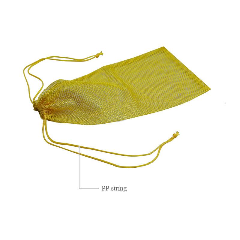 Custom colors mesh drawstring bag-3