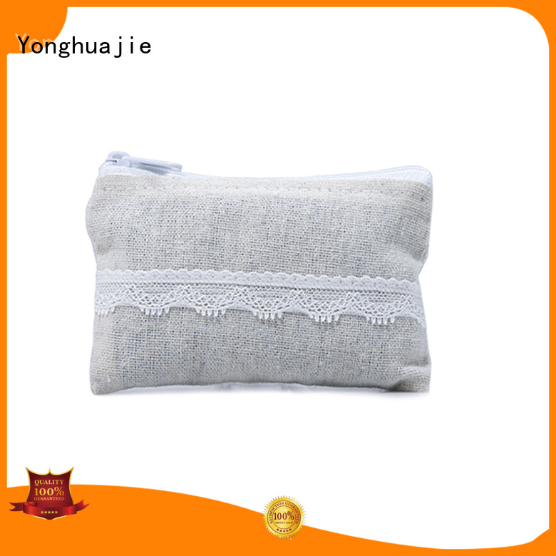 Yonghuajie free delivery linen pouch linen drawstring bag at discount for students