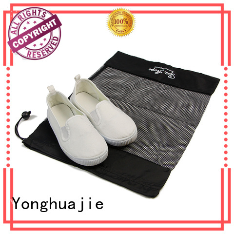 logo small mesh bags for wholesale for jewelry Yonghuajie