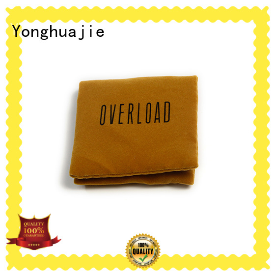 Yonghuajie top manufacturer velvet pouch top-selling for gift