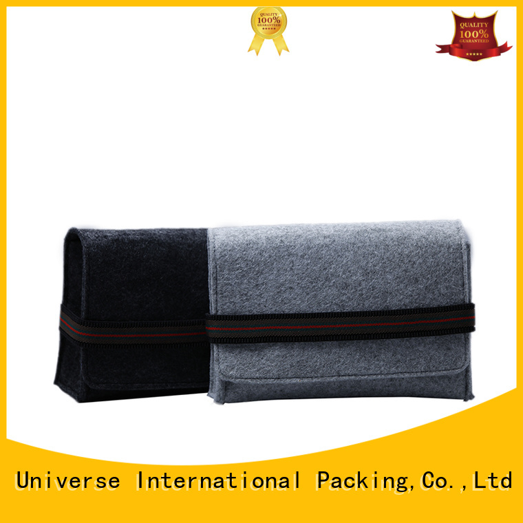Yonghuajie cheapest price felt purse for goods